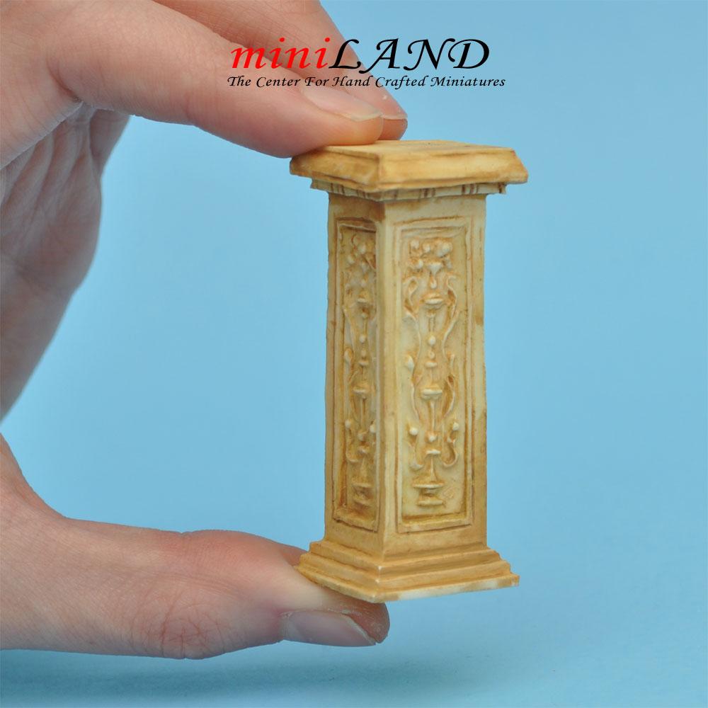 Pedestal French TAN WA1003TN For Dollhouse Miniature 1:12