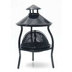 Patio Fire Pit Patio Campfire dollhouse miniature 1:12