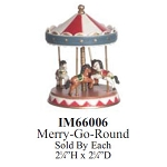 Merry-Go-Round toy Dollhouse Miniature 1:12 scale