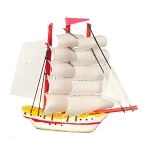 SHIP Toy Boats  miniature dollhouse 1:12 RA0303