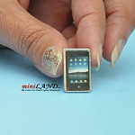 Tablet ipad dollhouse miniature 1:12 scale
