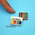 Art paint set  dollhouse miniature 1:12 scale
