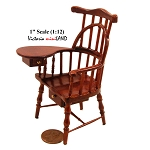 HQ WINDSOR SIDE ARM WRITING CHAIR