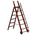 LIBRARY STORE  STEP LADDER 06593 Fine Quality MH