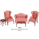 Economic 5 PCS LIVING ROOM T6854 1:12 scale