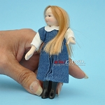 Poor Little Girl Porcelain doll  4