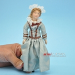 Victorian Lady Porcelain doll  5.5