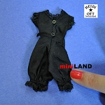 xz916S black One Piece Underwear, Dolls House Miniature