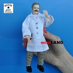 x025 Heidi Ott Dolls House Dentist Doll, Man in a White Coat