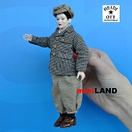 x095 Heidi Ott Male Doll in Brown Check Trousers, Jacket & Hat