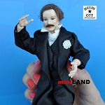 x102 Heidi Ott Male Doll in a black suit