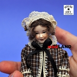 x028 Heidi Ott Dolls House Doll, Lady with Cape