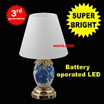 Blue / white table light LED Super bright with On/off switch