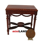 VICTORIAN ORNATE SIDE TABLE Dollhouse miniature 1:12 WN