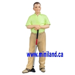 Ted  - Resin Doll for Dollhouses golfer