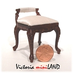 Fine Quality Dressing Stool for dollhouse miniature