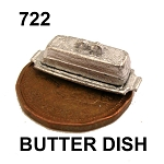 BUTTER DISH with COVER 5/8