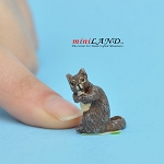 "Squirrel 3⁄4""H For dollhouse miniatures 1:12 scale"