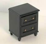 Ashley black Coffee Table A222 for dollhouse miniature 1:12 scale