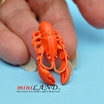 Lobster dollhouse miniature 1:12