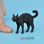 Black Cat For dollhouse miniatures 1:12 scale