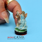 Playing Guitar statue figurine dollhouse miniature 1:12