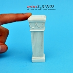 Pedestal White WA3935 for dollhouse miniature 1:12 scale
