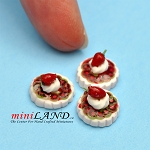 Tart Kiwi 3 Pcs dollhouse miniature 1:12