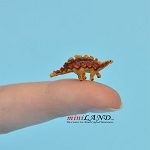 Stegosaurus Dinosaur for 1:12 scale dollhouse miniature