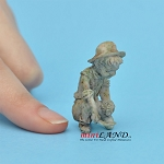 Statue Boy Gardener for 1:12 scale dollhouse miniature