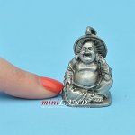 Buddha Statue metal for dollhouse miniatures type A 1.25