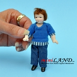 Poor Little Boy Porcelain doll  4