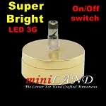 DIY BRASS light  lamp LED Super bright with On/off switch