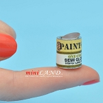 Empty Paint Pro Gallon for dollhouse miniatures 1:12 scale
