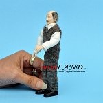 X052 Heidi Ott Doll House old man male 1:12 5.5