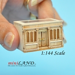 1:144 scale LANDYGO STORE ROOMBOX DOLLHOUSE FOR DOLLHOUSE UNFINISHED