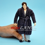 FRANKY - man in robe and slippers 1:12 scale