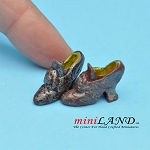 Shoes for dollhouse miniature display #07