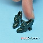 Shoes for dollhouse miniature display #08