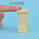 Pedestal Large Ivory WA1002IV for dollhouse miniature 1:12 scale