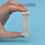 Pedestal French Grey WA1003IV  for dollhouse miniature 1:12 scale