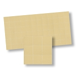 Beige Floor Tiles  for dollhouse miniature 1:12 scale - one sheet