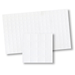 Plain Wall Tiles for dollhouse miniature 1:12 scale - one sheet