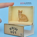 XZ563 Cat by Heidi Ott For dollhouse miniatures 1:12 scale