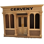 The Cerveny store roombox 1:12 dollhouse 5min assembly