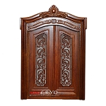 Carved Double Door 1:12 scale quality dollhouse miniature