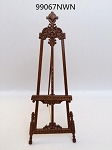 Artist's Easel picture stand 99067 WN 1:12 scale for dollhouse miniature