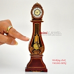 Working Dollhouse Miniature Grandfather Clock MH V4010D-MHG