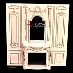 Fireplace panel - Royal Paneling line White