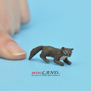 Squirrel For dollhouse miniatures 1:12 scale